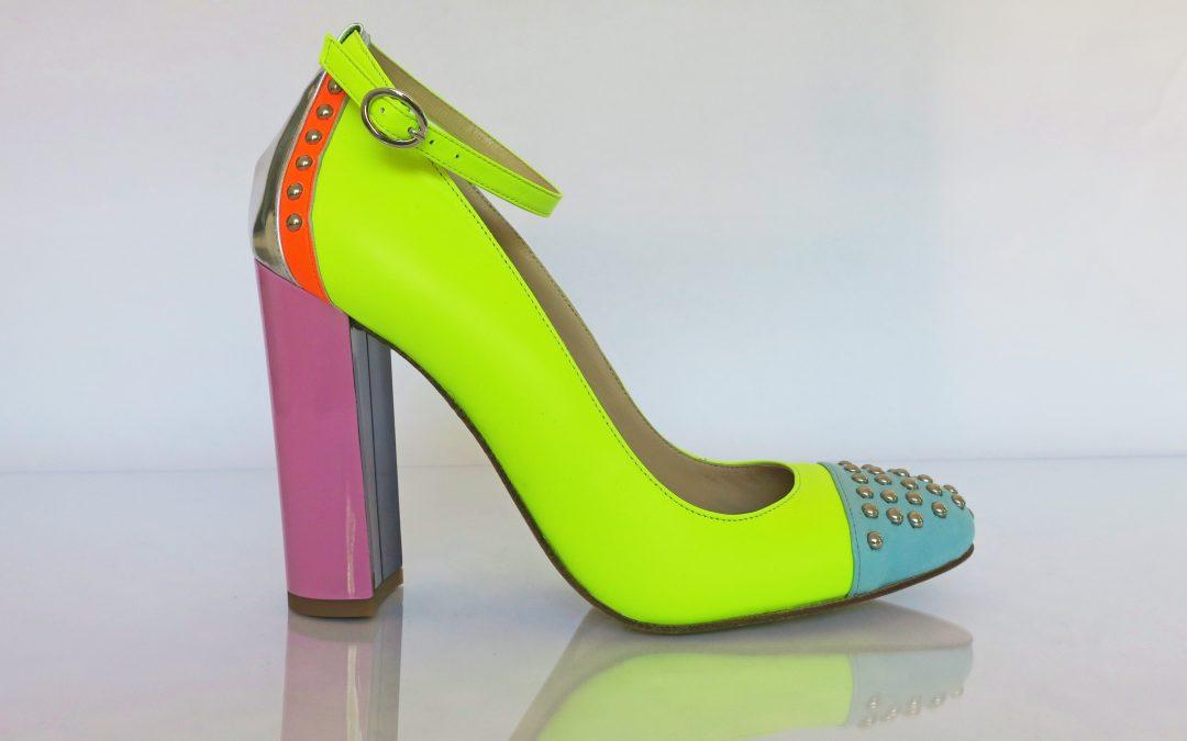 Hero4Heroes heel – Neon Yellow