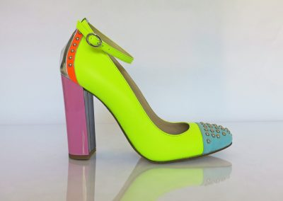 Hero4Heroes heel – Neon Yellow